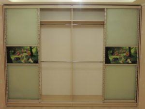 Шкаф в детскую комнату с фотопечатью