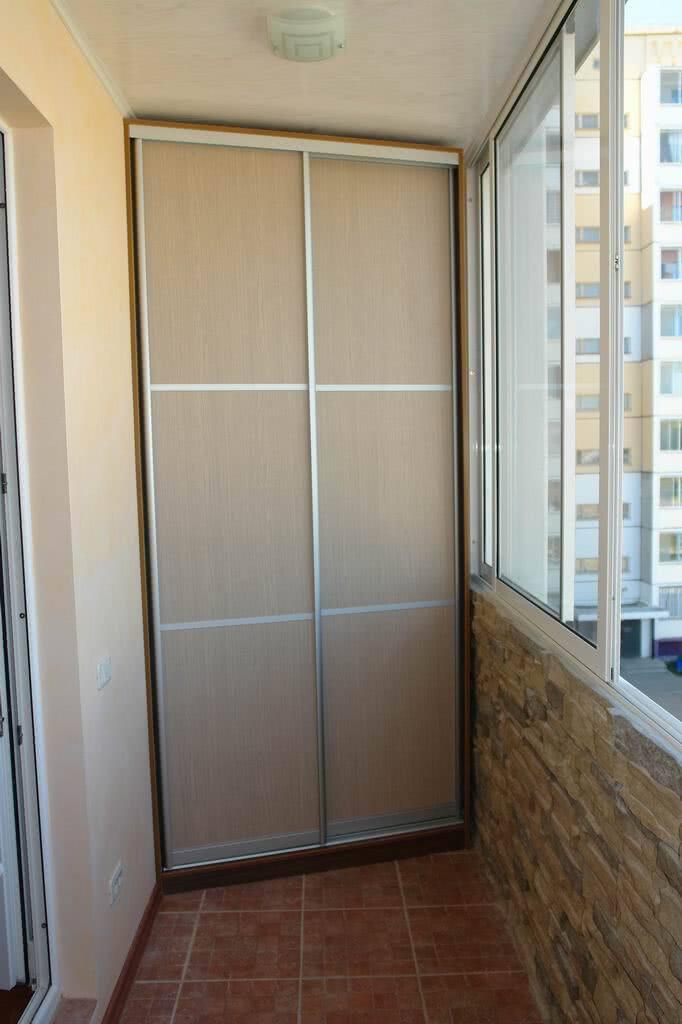 Стоимость сборки шкафа из старого на балконе.