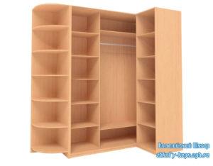 Корпус углового шкафа купе Г-образной формы