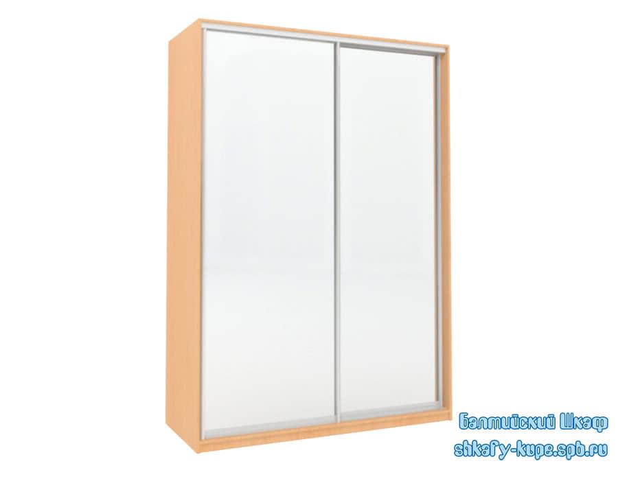 Шкаф купе шириной 1500 мм с двумя зеркальными дверями