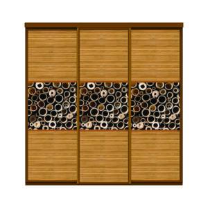 Двери купе бамбук_1+бамбук