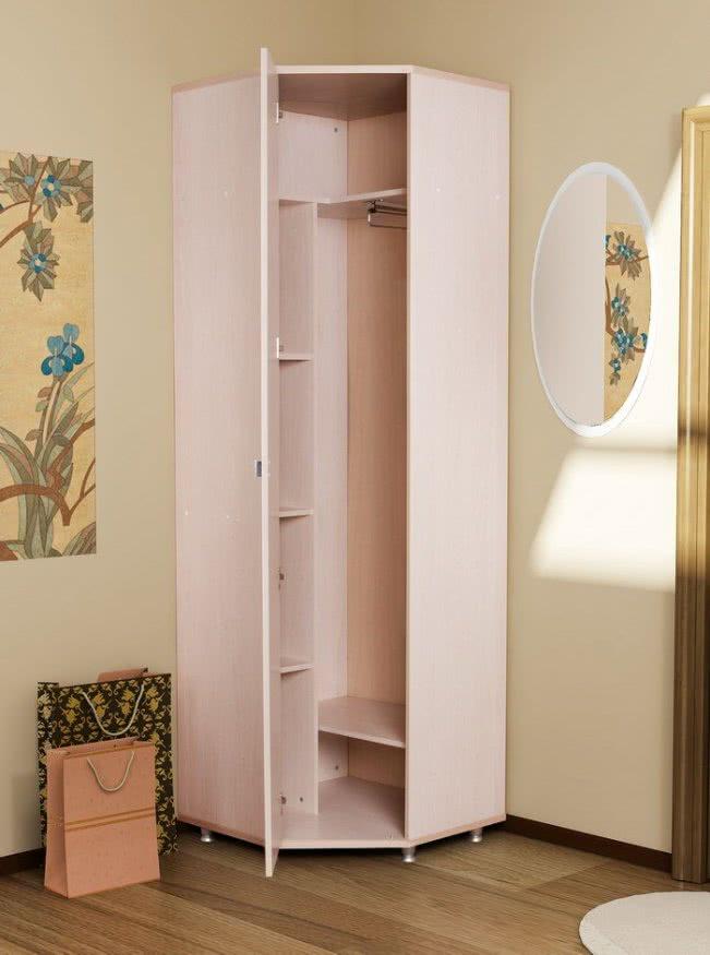 шкаф угловой маленький фото