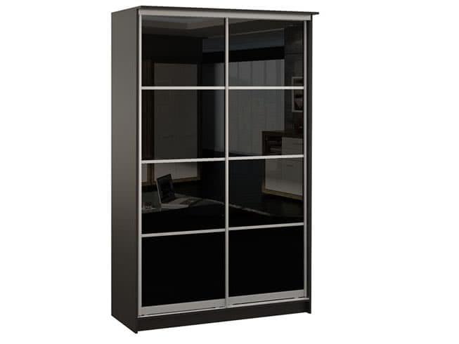 Черный шкаф купе недорого