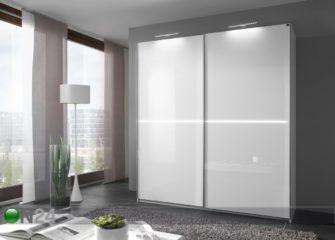 Шкафы купе белый глянец