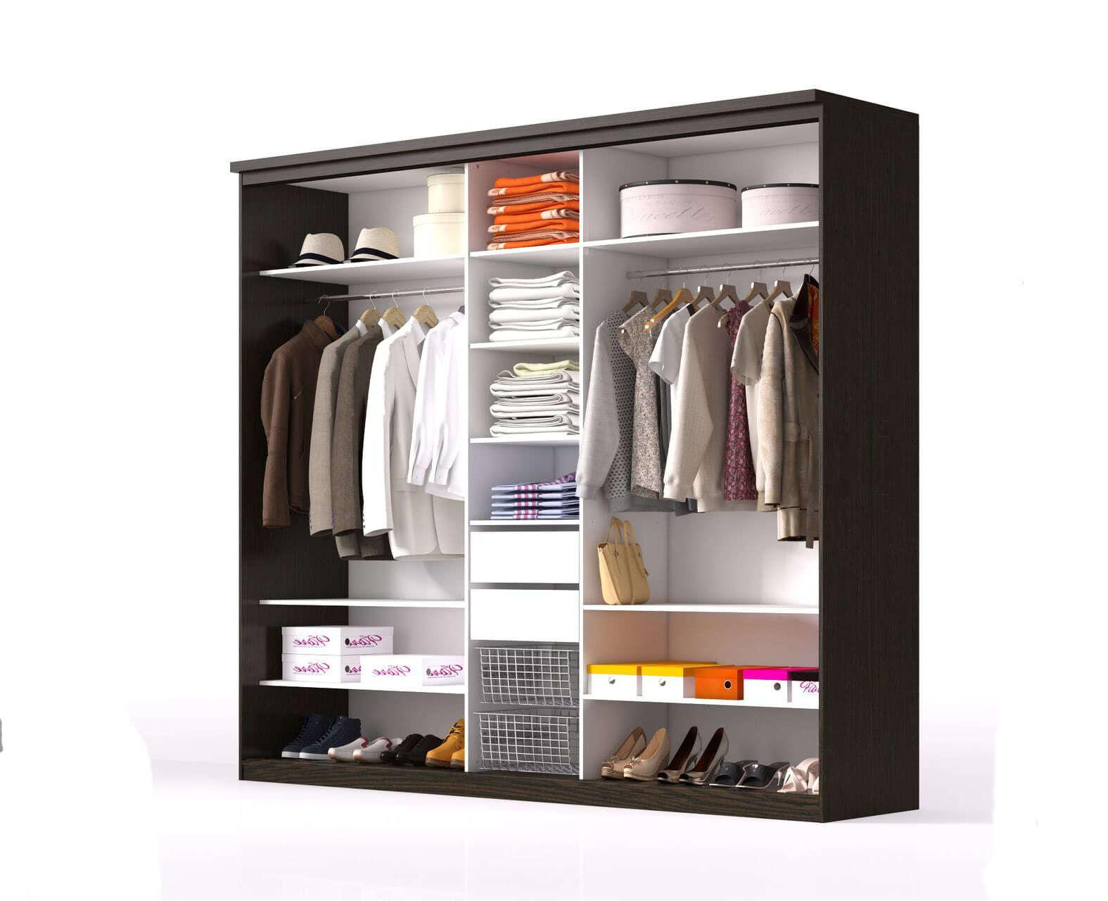 Организовать наполнение для шкафа-купе - компания микэвол.