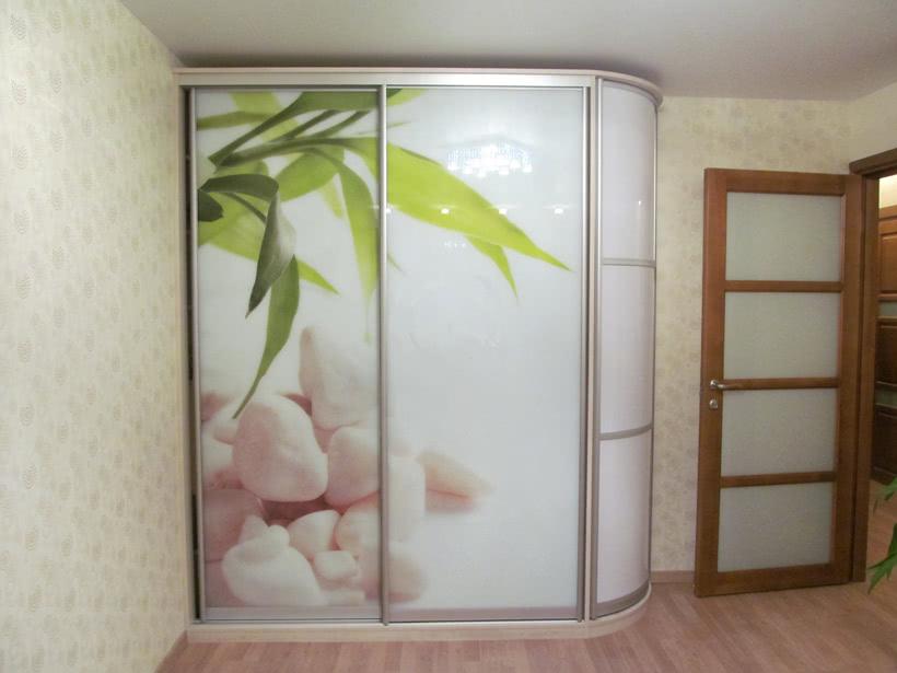 Двухдверный шкаф с фотопечатью