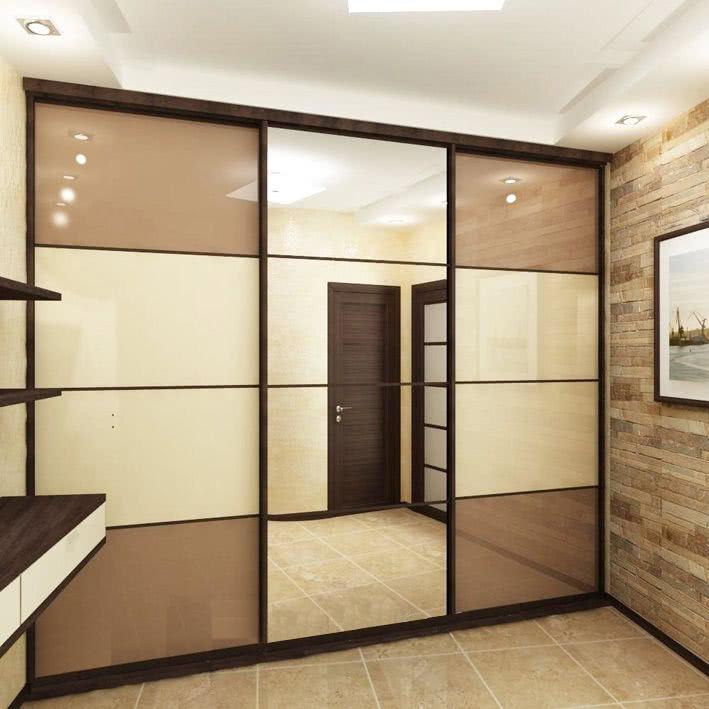 Дизайн шкафа купе в коридор
