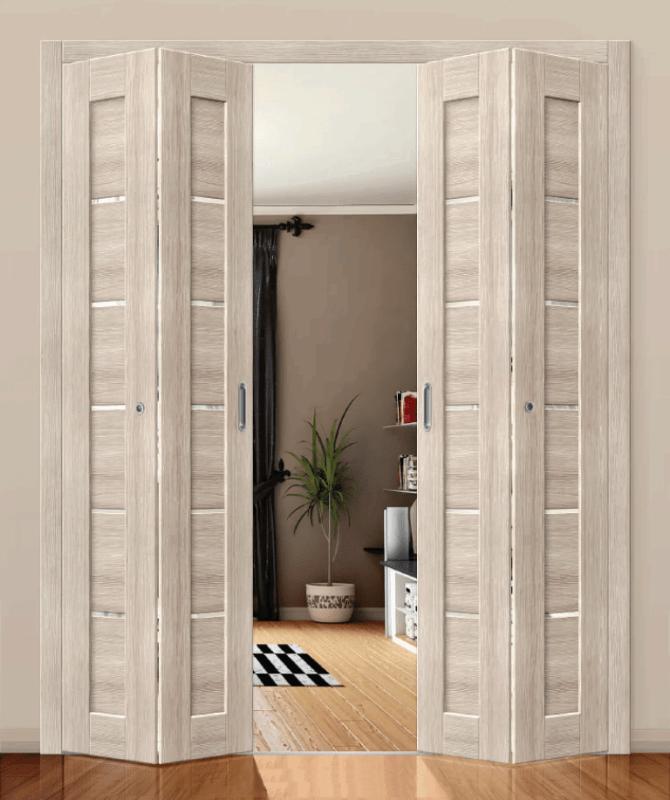 Двери купе гармошка