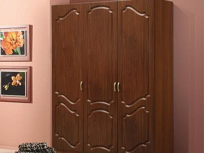 Распашной шкаф без зеркал