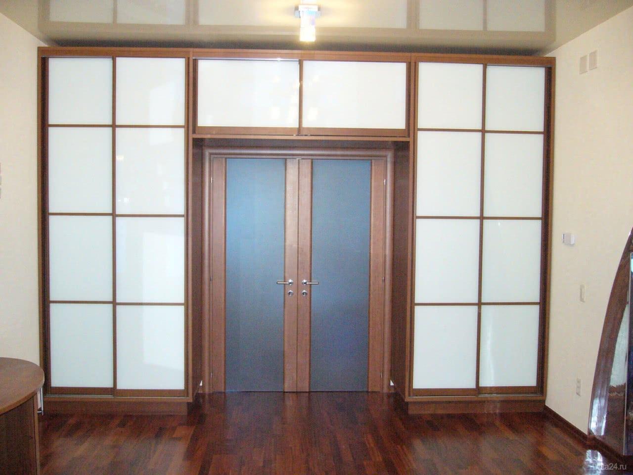 Шкаф вокруг двери на заказ