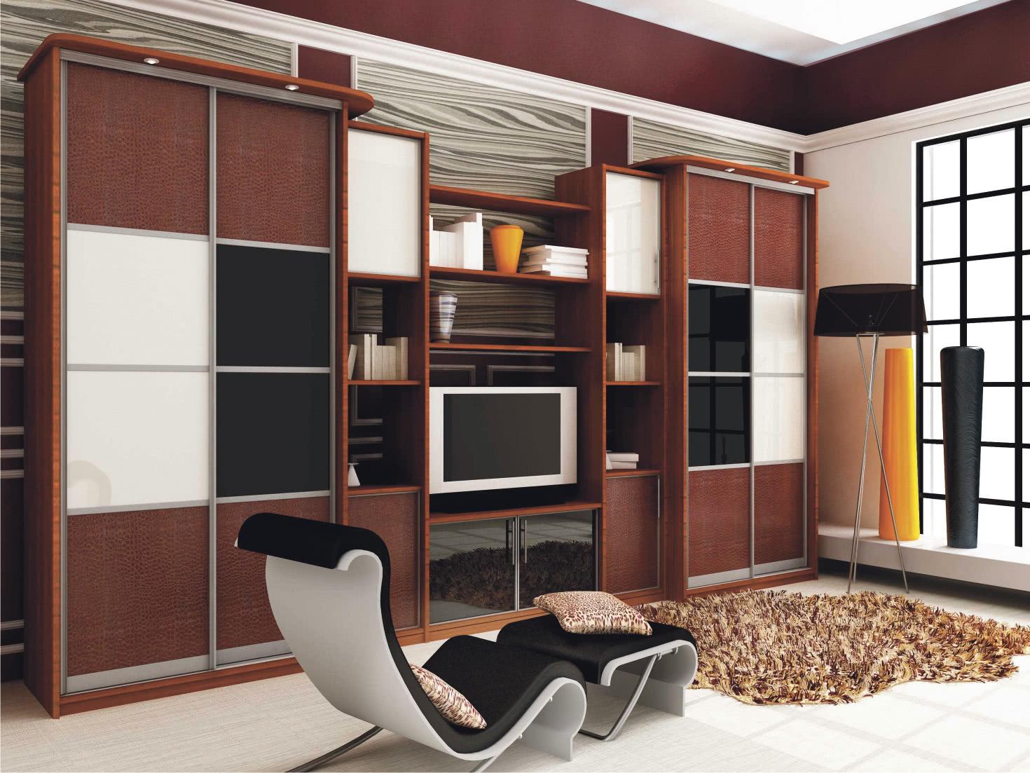 Гостиная мебель - шкаф купе