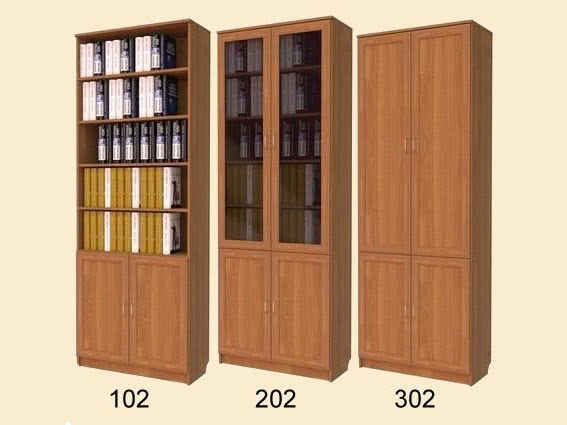Книжный шкаф ольха