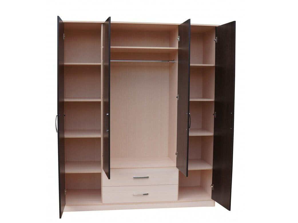 Низкий шкаф для одежды