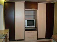 Модульный шкаф купе для гостиной