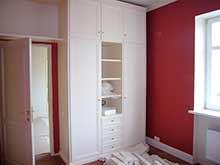 Шкаф белый высокий