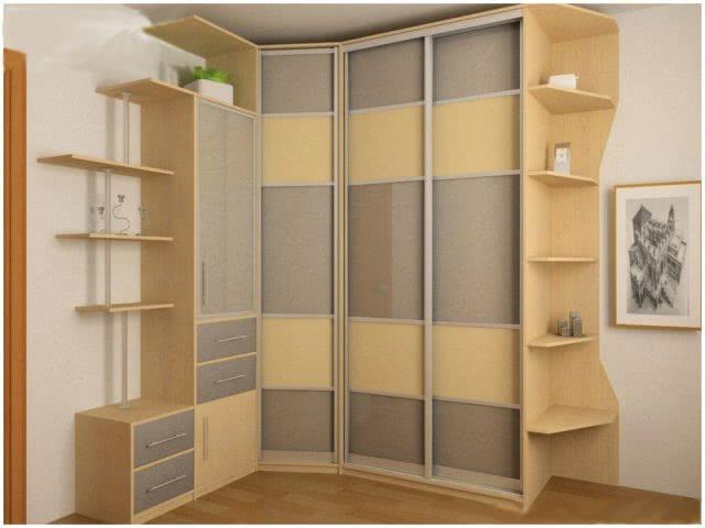 Угловой шкаф-купе по индивидуальному проекту