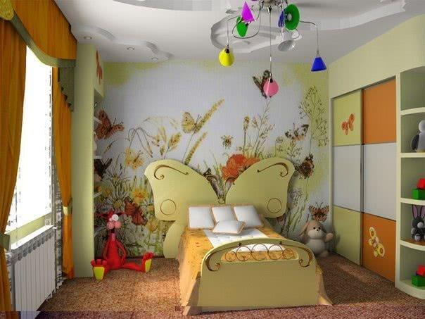 Комплект мебели в детскую со шкафом-купе