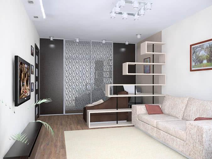шкаф купе в однокомнатную квартиру