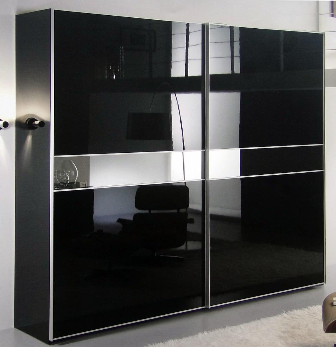 Шкаф купе черный