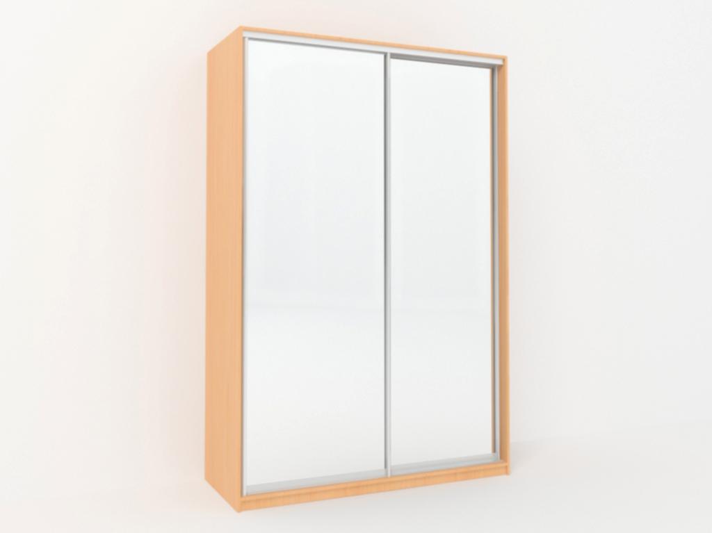Шкаф купе 2 зеркала шириной 1600 мм