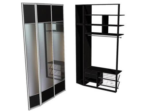 Встроенный шкаф купе по индивидуальным размерам