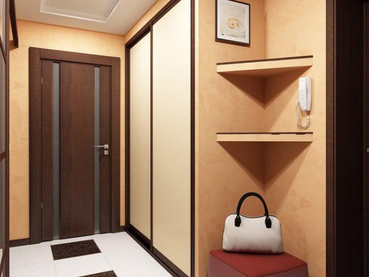 Шкаф в прихожую в коридор