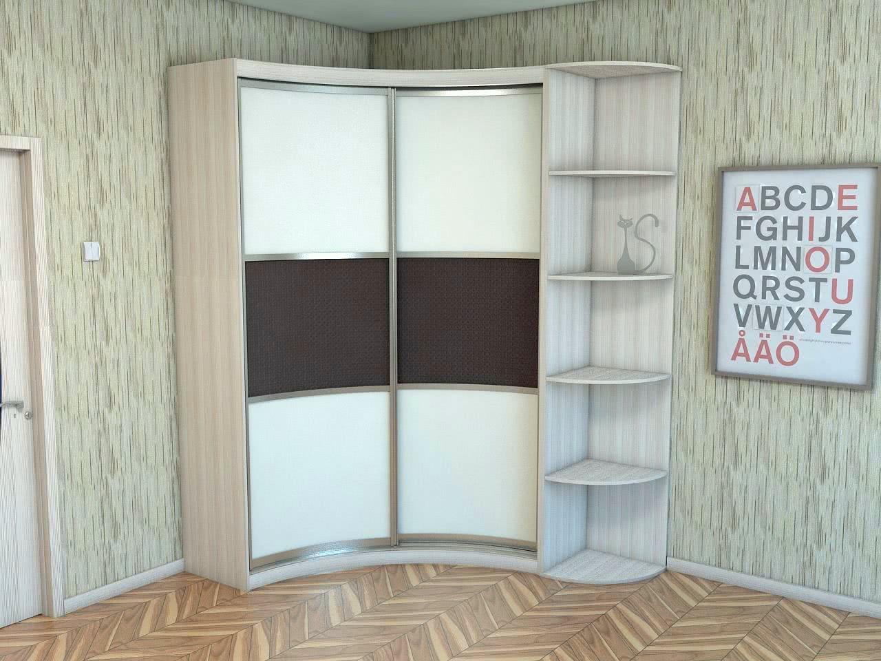 Недорогой шкаф купе для одежды