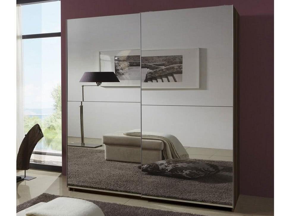Зеркальный шкаф купе в комнату