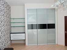 Двери для шкафа купе со стеклом
