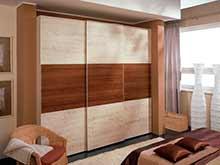 Трехдверный шкаф-купе Marbella шириной 280 см