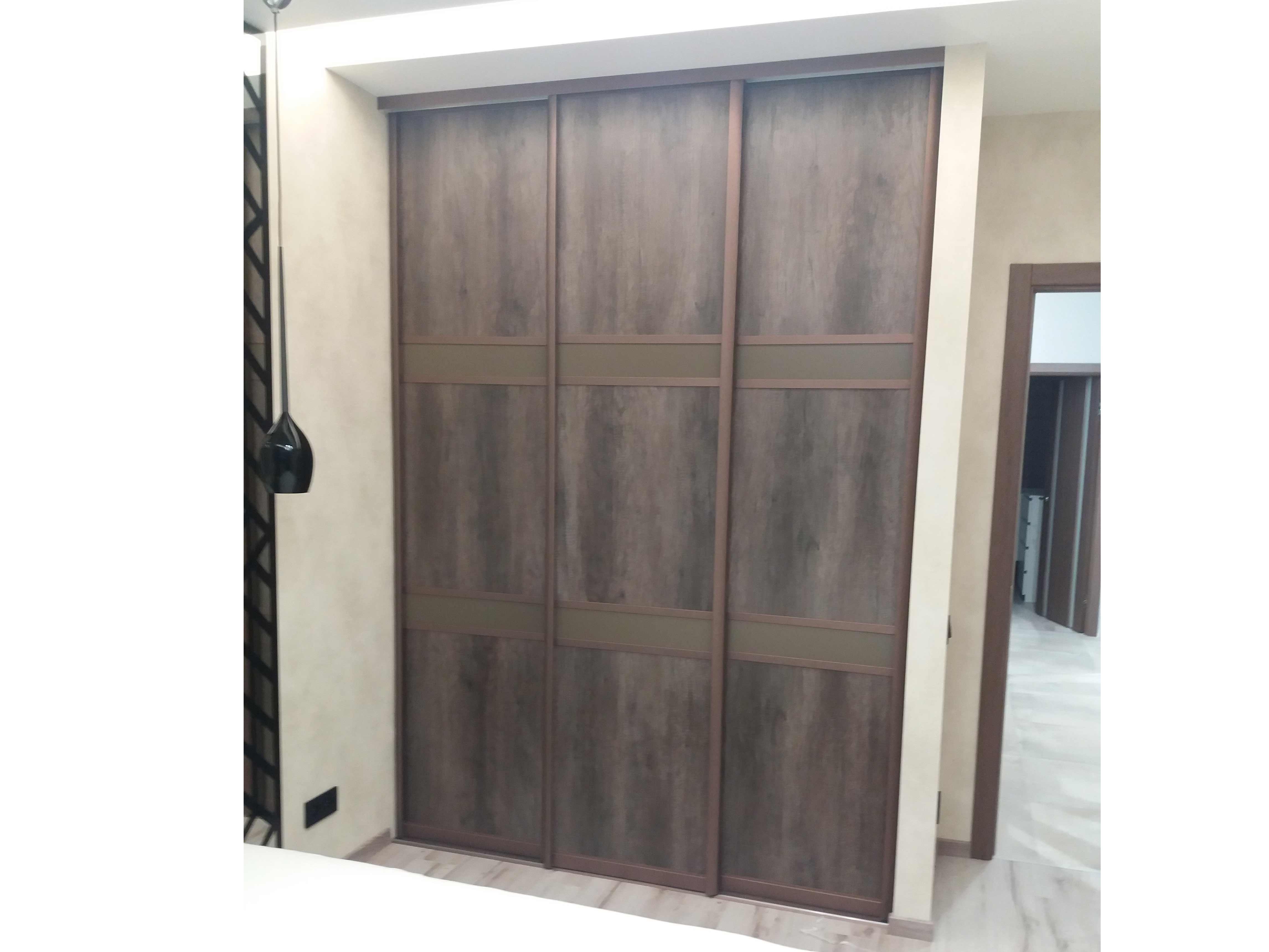 Встроенный шкаф-гардероб в спальню