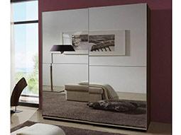 Зеркальный шкаф-купе Марбелла в комнату